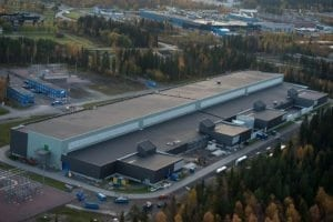Facebook Data Centre in Luleå, Sweden.