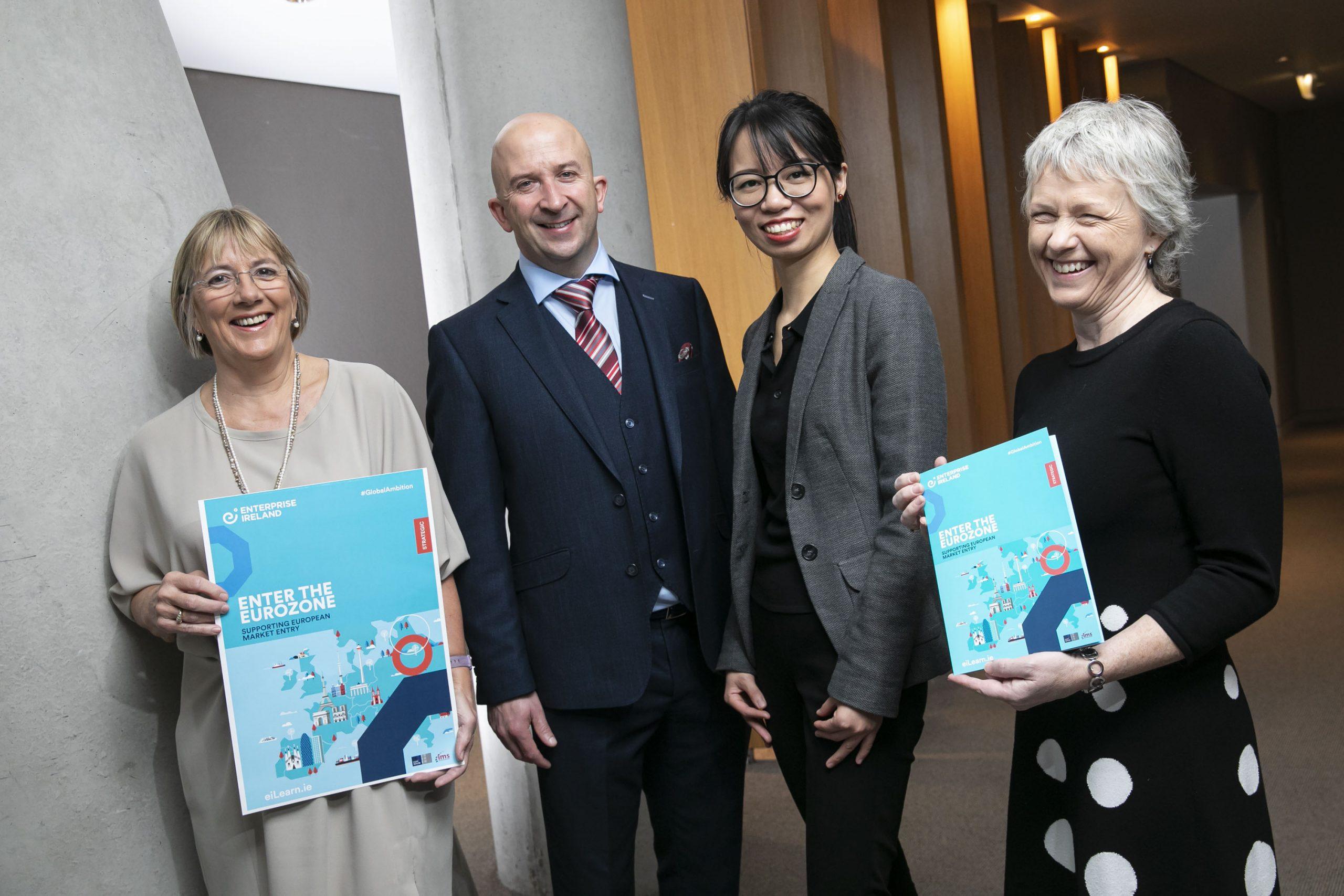 """Ausgezeichnet! Enterprise Ireland wird bei den EFMD Awards für sein """"Enter the Eurozone""""-Programm prämiert"""