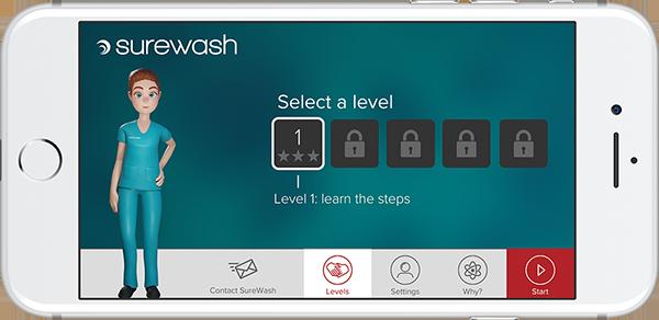 SureWash - Handhygiene per App erlernen